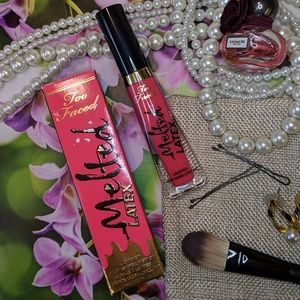 Too Faced Liquified High Shine Lipstick Rated R
